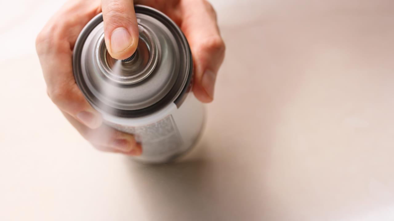 スプレー缶による爆発火災