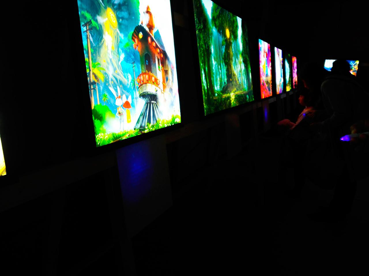 光る絵本展と光る温泉宿レポート