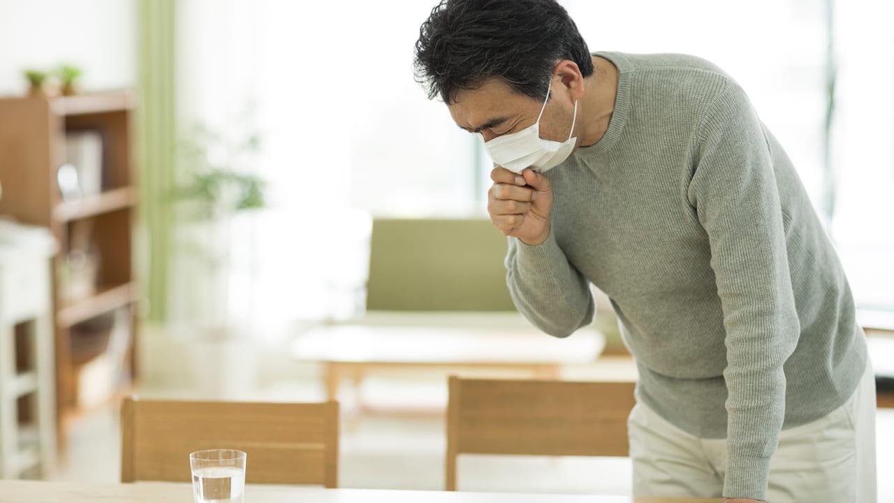 風邪、咳イメージ