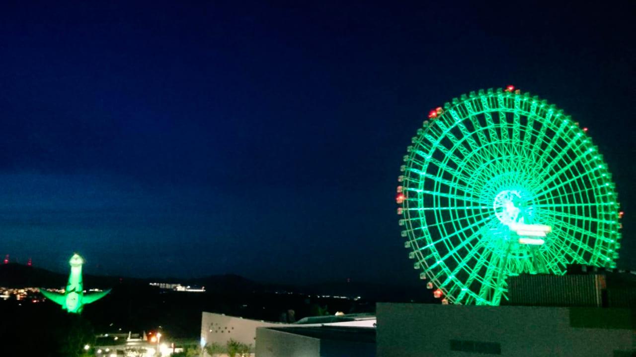 大阪モデル緑点灯