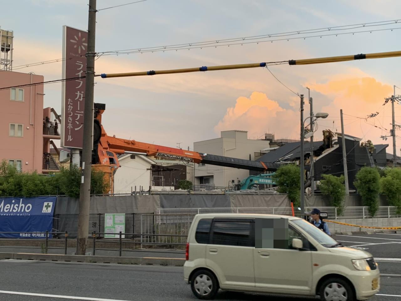 ゼネコン 名古屋 クレーン 事故