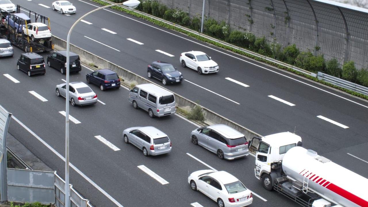 名神高速渋滞0920