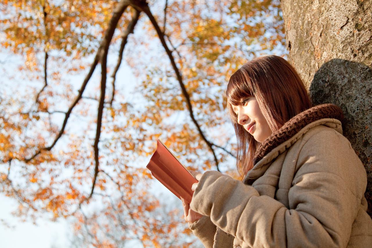読書の秋イメージ